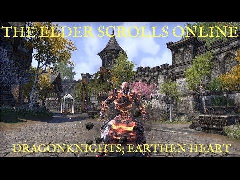 The Elder Scrolls Online Let's Talk; Earthen Heart (Dragonknight Skill Tree)