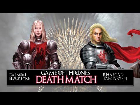 Game Of Thrones DeathMatch! - Rhaegar Targaryen Vs. Daemon Blackfyre