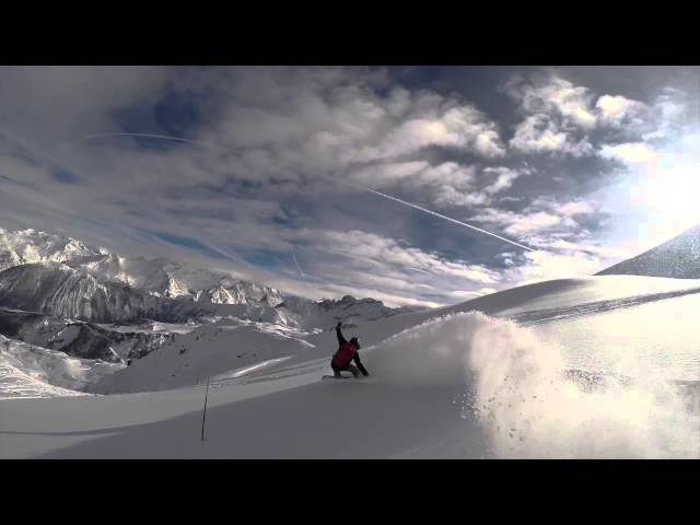 RTM Snowboarding Day Off Courchevel Off Piste 2015