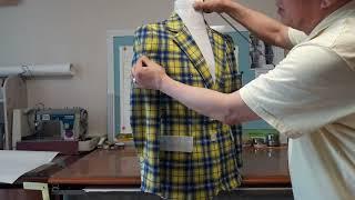쥴케46교시[좋은옷만들기]패턴박사의-가봉-체크자켓 설명