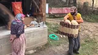 Köy ekmegi böyle yapılu 😂