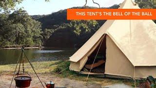 White Duck Outdoors 10' Regątta Bell Tent | ReddyYeti First Look
