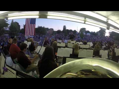 Downriver Community Band - Tuba Cam - July 4, 2014 - Armed Forces Salute (3 of 5)