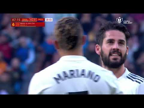 Golazo de Isco (4-0) Real Madrid vs UD Melilla Mp3
