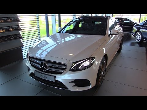 Mercedes-Benz E Class AMG New 2017 Start Up, Drive, In Depth Review Interior Exterior