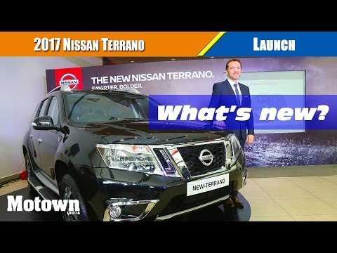 New Nissan Terrano | Launch | Motown India