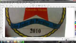 Logo Guarda Mirim Corel Draw - Jorge Luiz - Designer Gráfico