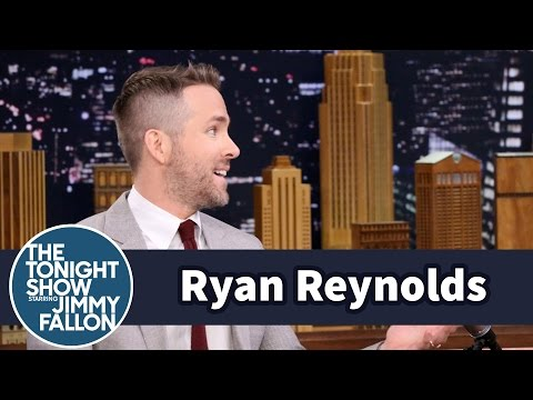 Ryan Reynolds Gave a Deadpool  the Best GetWell Gift Ever