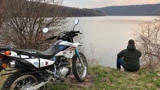 Рыбалка ЗАЧЕТ!!! 200 км. на Мотоцикле! Смотрите что получилось!
