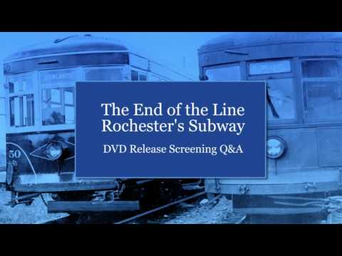 Rochster Subway Map If It Exist.The End Of The Line Rochester S Subway The Historical