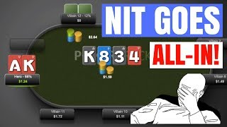 Nit Goes ALL IN, We Have Top Pair (Do You Call?)