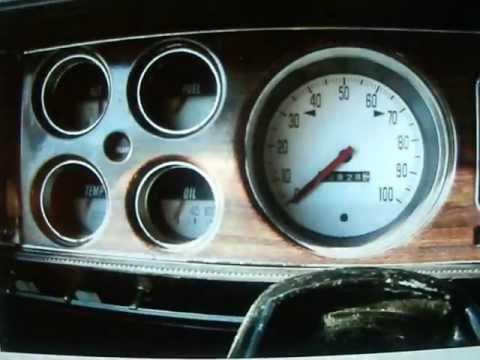 Dodge Truck Parts >> whiteface gauges for 1979 dodge pickup truck - YouTube