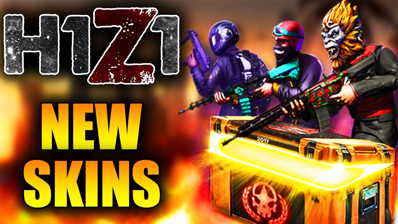 New 2017 Invitational Crate Announced! New Imperial Shotgun, Inboxes and Radek AR-15! (H1Z1 Skins)
