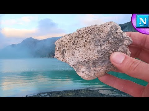 Worlds Largest Acid Lake Vs. Coral
