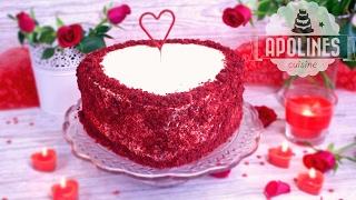 წითელი ხავერდის ტორტი - Witeli Xaverdis Torti, Red velvet cake