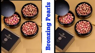 Oriflame||Giordani Gold Bronzing Pearls with Powder Brush