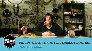 Die ZDF Tierkritik mit Dr. Margot Dokthor: Pferde | NEO MAGAZIN ROYALE mit Jan Böhmermann - ZDFneo