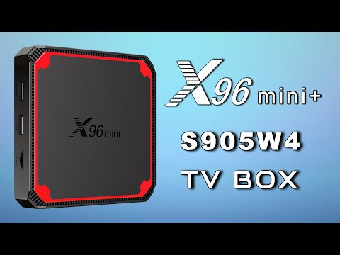X96 Mini+ Amlogic S905W4 Android 9 TV Box