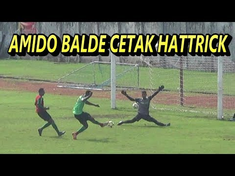 HIGHLIGHT AND GOAL GAME INTERNAL PERSEBAYA SURABAYA - AMIDO BALDE CETAK HATTRICK
