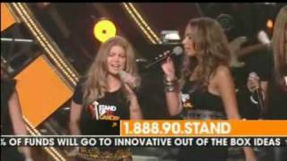Just Stand Up LIVE - Miley Cyrus, Fergie, Beyonce, Rihanna, Mariah Carey and MORE!