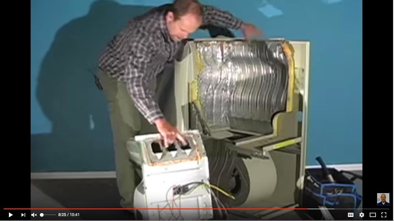 Finding A Crack In The Heat Exchanger Youtube