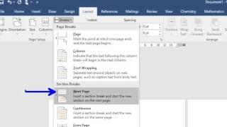 เทคนิคการเปลี่ยนหน้ากระดาษใน Word จากแนวตั้งเป็นแนวนอนบางหน้า