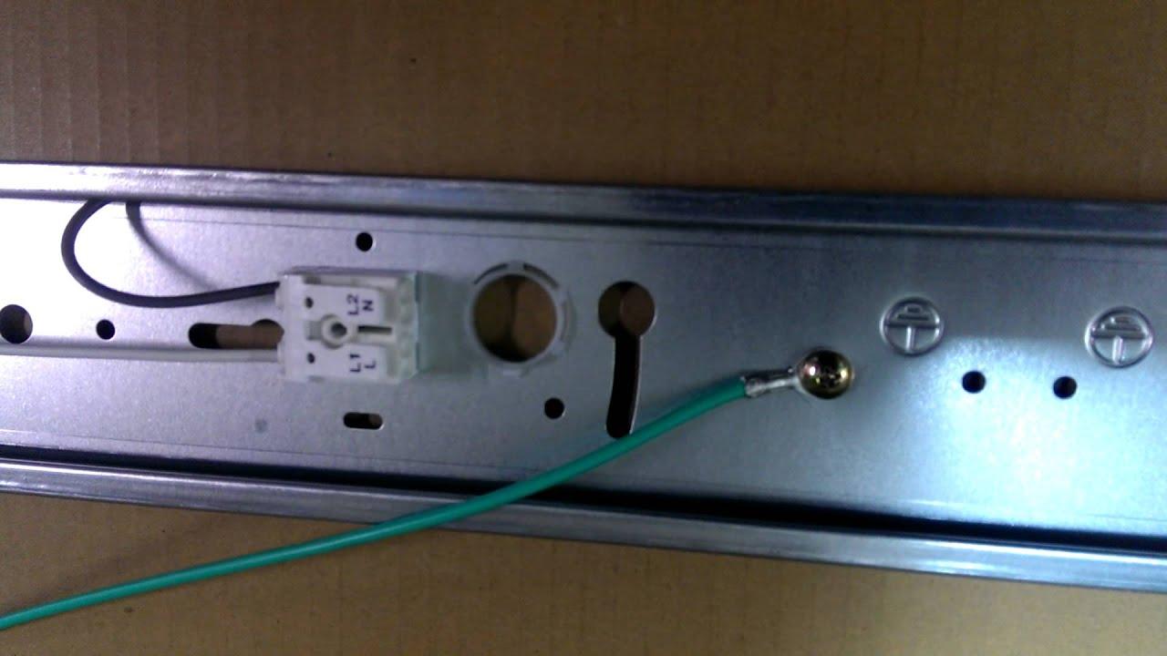 舊T8燈殼改LED燈的線路的影片3 - YouTube