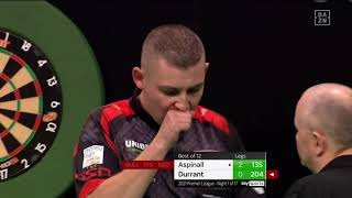 PDC Premier League Darts 2021 | Week 1 | Aspinall - Durrant