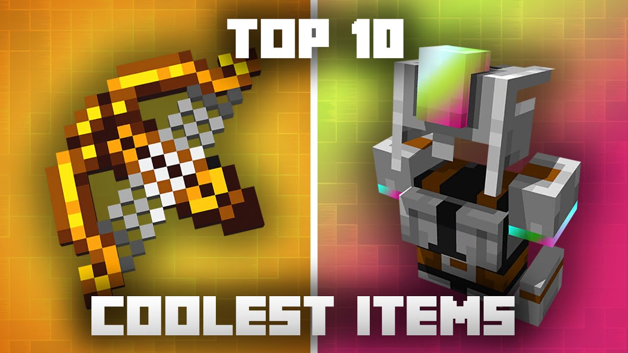 Top 10 COOLEST Items in Minecraft Dungeons
