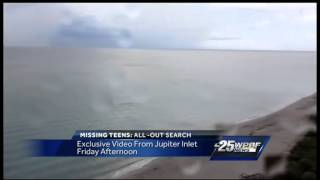 Exclusive: Video may be of missing teens leaving Jupiter Inlet