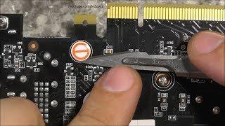 Как снять пломбу на видеокарте не повредив. / Warranty plomb dissasembly