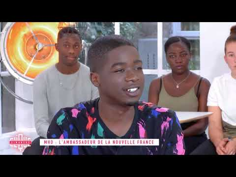 Youtube: MHD: L'ambassadeur de la nouvelle France – Clique Dimanche – CANAL+