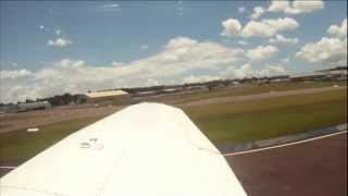 Touch and Go - Christmas Eve flight from Bankstown to Canberra and back