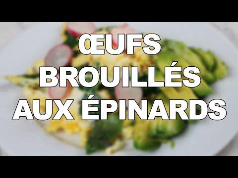 Œufs-brouillés-aux-épinards-et-mozzarella-:-un-petit-déjeuner-kéto-salé