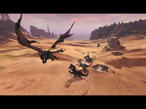 Total War: Warhammer II - Tyrion v Malus Darkblade  