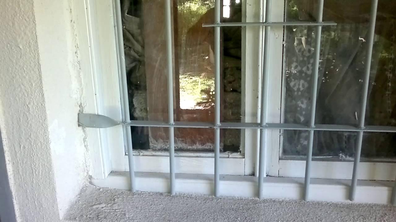 Решетки на окна своими руками на даче