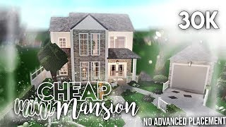 Roblox | Bloxburg: 30k Cheap Mini Mansion (no advanced placement) | House Build