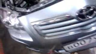 замена радиатора Toyota Avensis