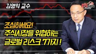 조심하세요! 주식시장을 위협하는 글로벌 리스크 7가지! (인플레이션, 시장금리상승) 김영익 교수님