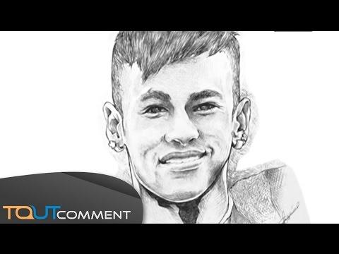 Dessiner Neymar au Stylo