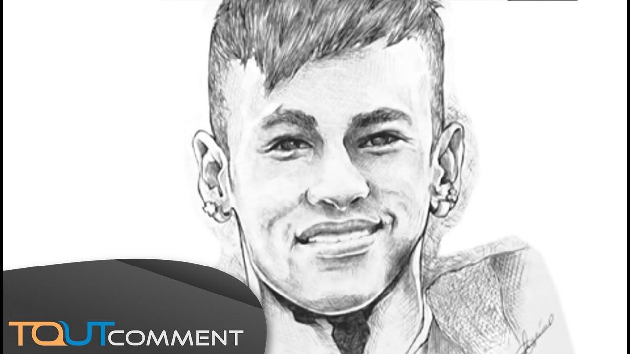Dessin facile neymar - Comment dessiner un but de foot ...