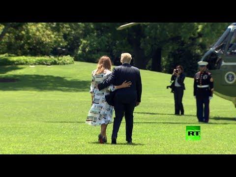 ميلانيا ترامب تجلب الأنظار في فستانها من -كالفين كلاين-  - نشر قبل 13 ساعة