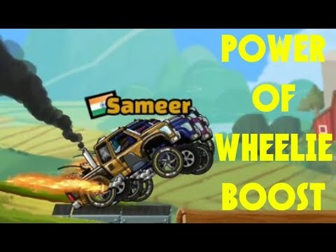POWER OF WHEELIE BOOST Hill Climb Racing 2 [HD]