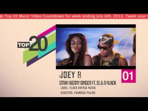 Top 20 Ghana Music Video Countdown - Week #27, 2013.