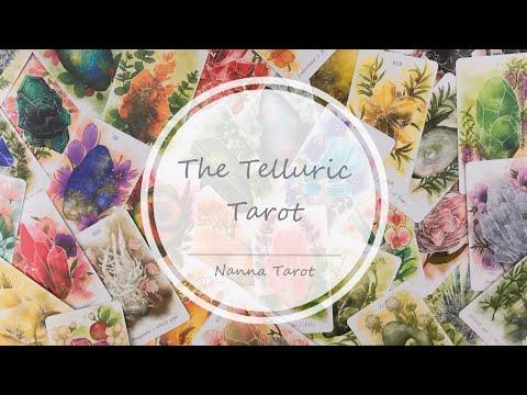 開箱  大地礦植塔羅牌 • The Telluric Tarot // Nanna Tarot
