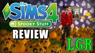 LGR - The Sims 4 Spooky Stuff Review