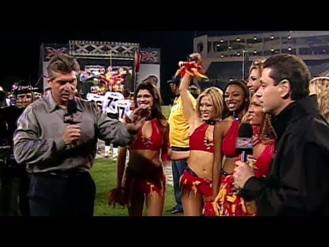 Racy cheerleader spot sparks controversy in XFL | ESPN Archives