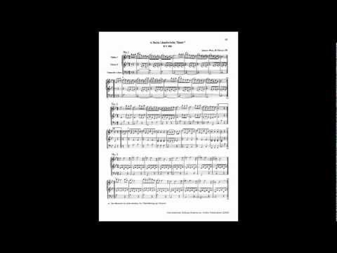 Mozart  6 German Dances, K 606 complete Ländler