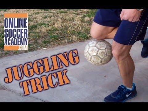 2d0615b50 Soccer Juggling Pick Up Trick + Online Soccer Academy - YouTube