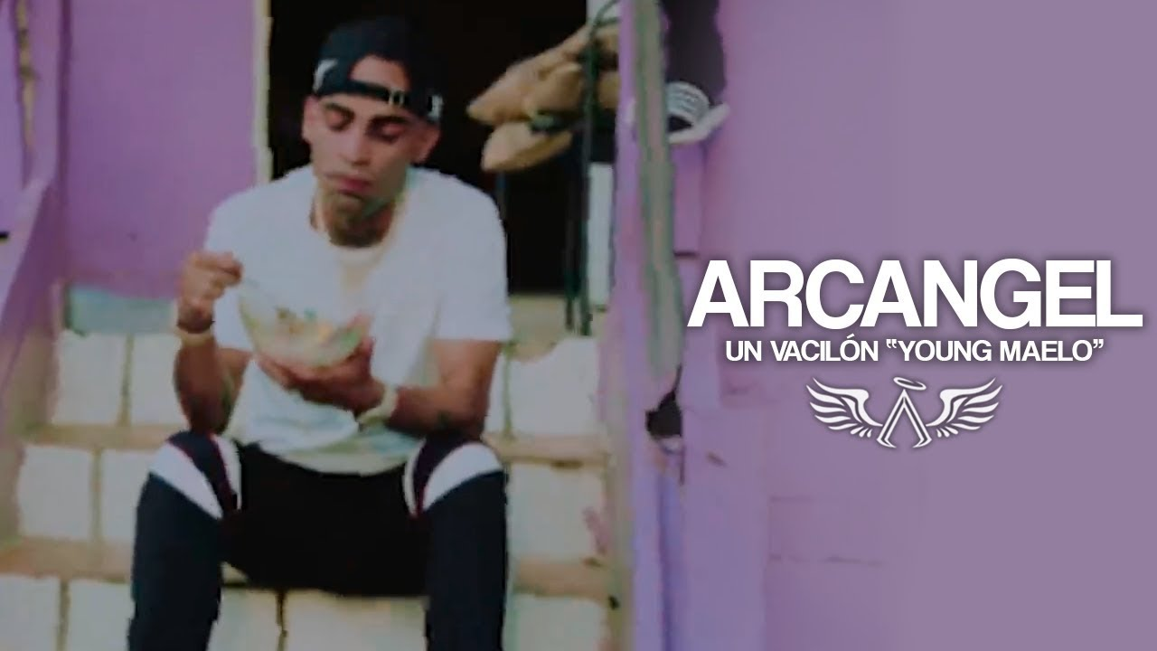 "Resultado de imagen para Arcangel - Un Vacilon ""Young Maelo"" [Official Video]"
